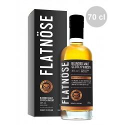 Whisky FLATNOSE Blended Malt 46° et son étui