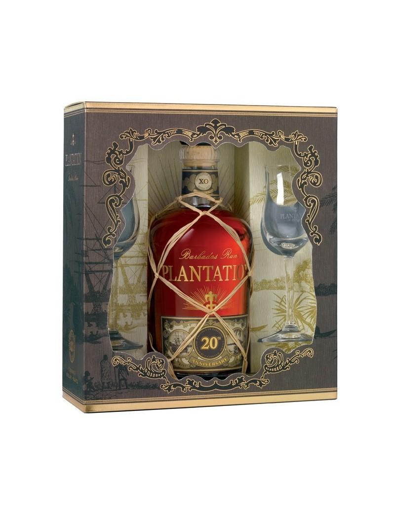 PLANTATION Rum XO - Coffret 2 verres - 20th Anniversary