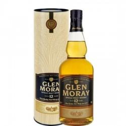 GLEN MORAY 12 ANS 40 % 70 CL