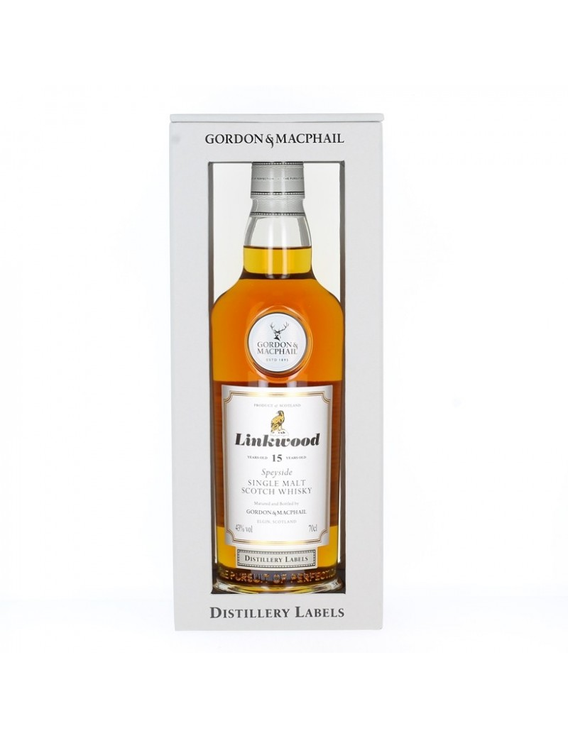 Whisky LINKWOOD 15 ans G&M