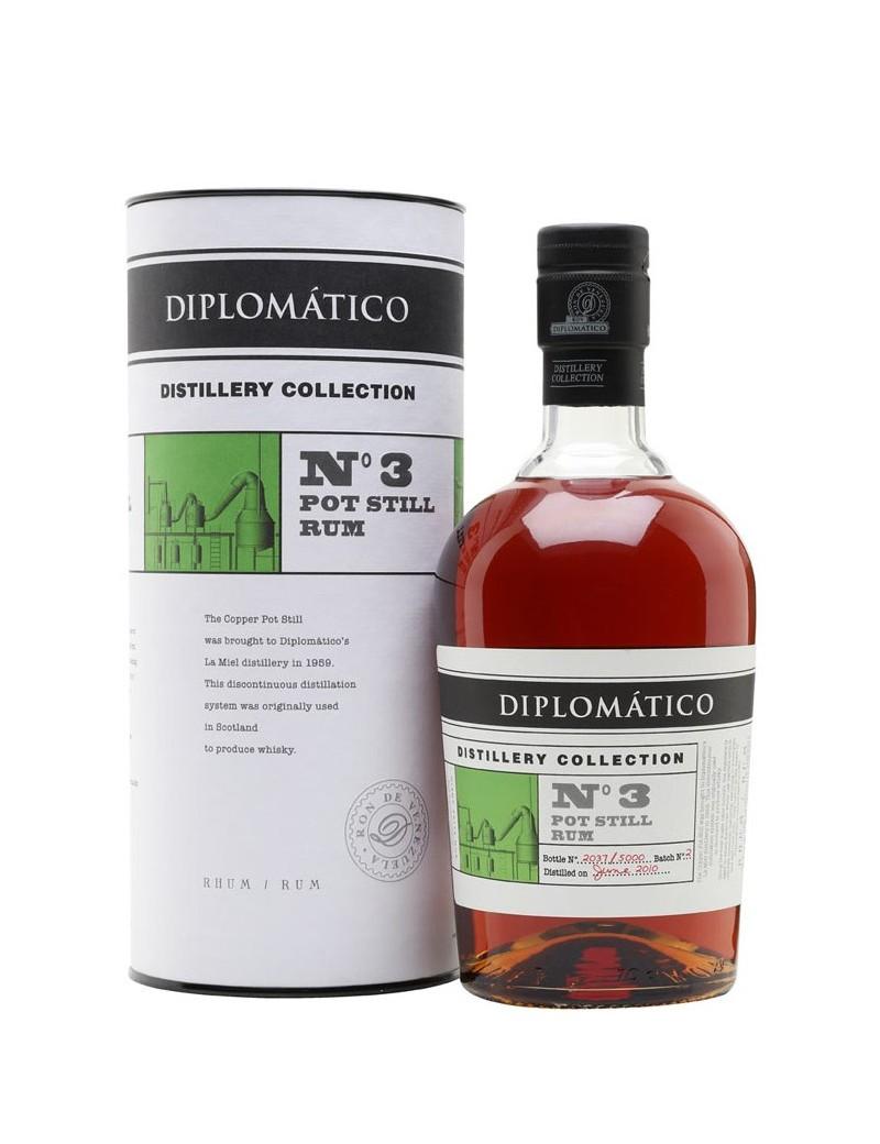 Rhum DIPLOMATICO DISTILLERY COLLECTION N°3 POT STILL
