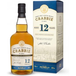 Whisky CRABBIES 12 ans Single Malt