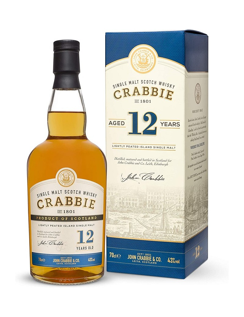 Whisky CRABBIES 12 ans Single Malt