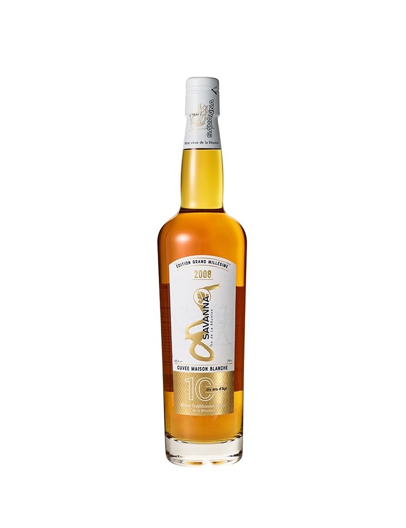 Rhum SAVANNA 10 ans 2008 Traditionnel
