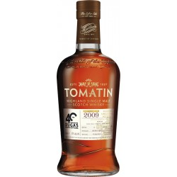Whisky TOMATIN 2009 - Private Bottling 40 ANS DUGAS