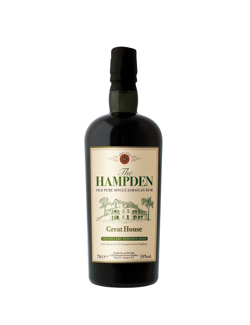 Rhum HAMPDEN Great House Distillery Edition 2020