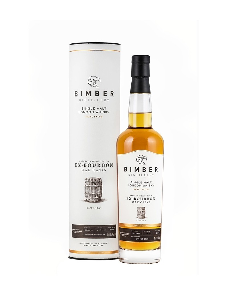 Whisky BIMBER Ex-Bourbon Cask Small Batch No 2