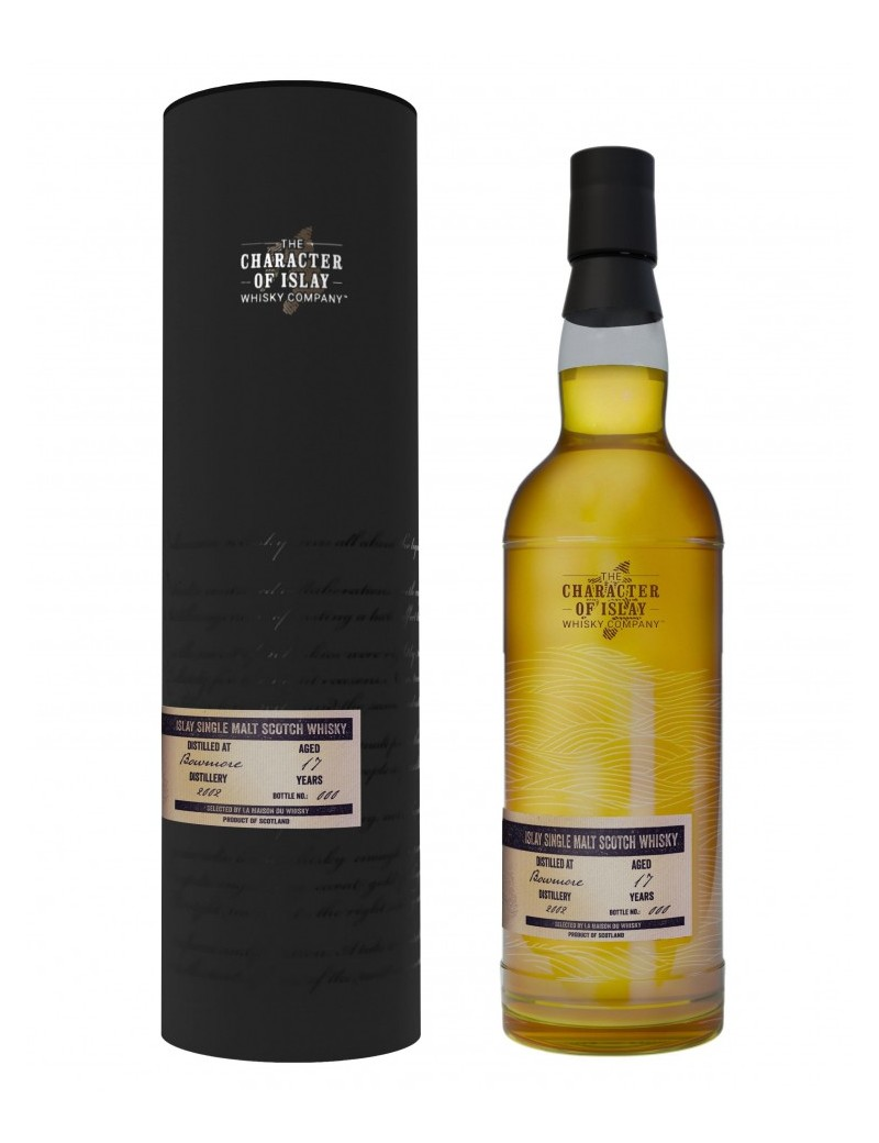 Whisky BOWMORE 17 ans 2002 - The Story of Wind & Waze