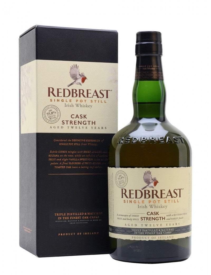 REDBREAST 12 ans Single Pot Still Cask Strength