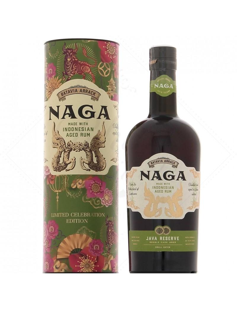 Naga  Rhum hors d'âge Java Reserve Celebration Edition 2020
