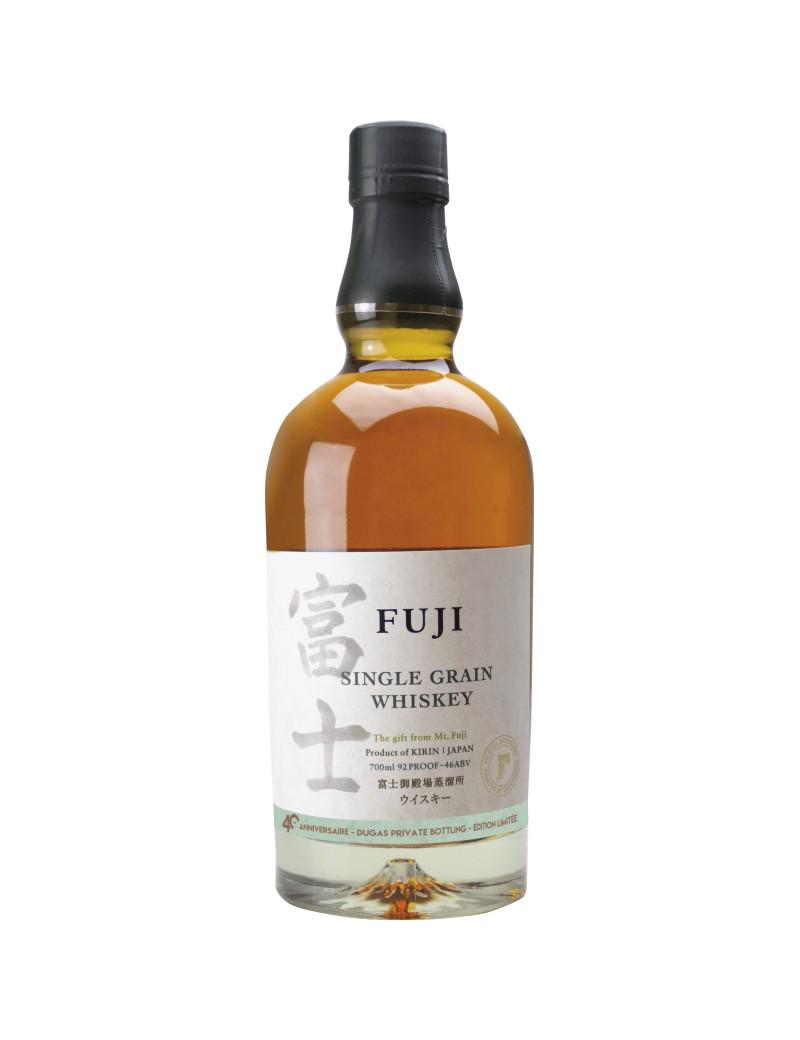 KIRIN FUJI Single grain Private Bottling 40 ANS Dugas