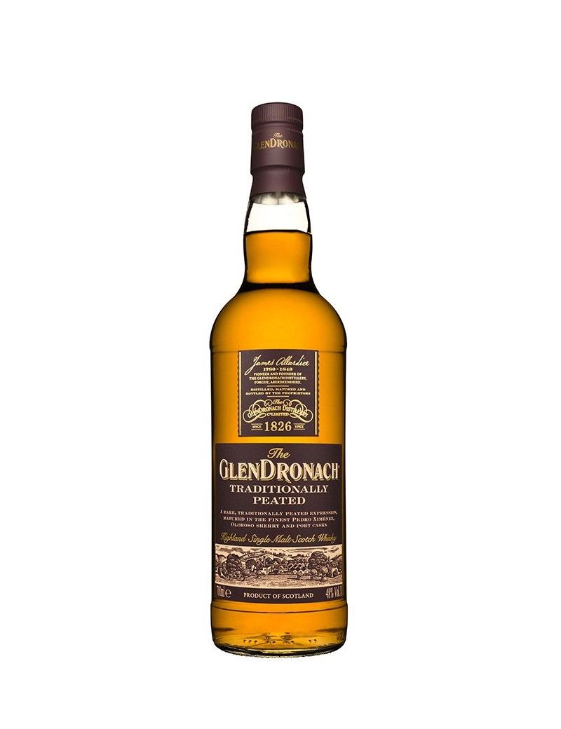 WHISKY GLENDRONACH  traditionnally Peated 46% 70 cl