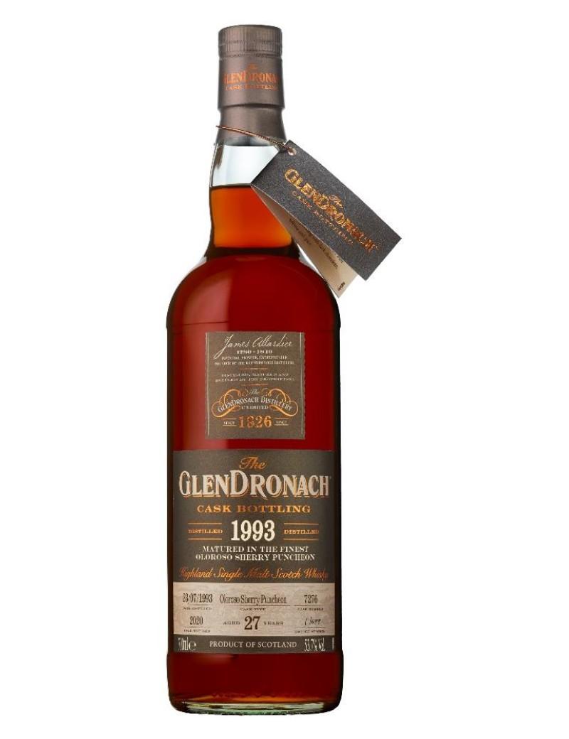 Glendronach 27 ans 1993 Oloroso Puncheon single cask Batch 18 53.7%