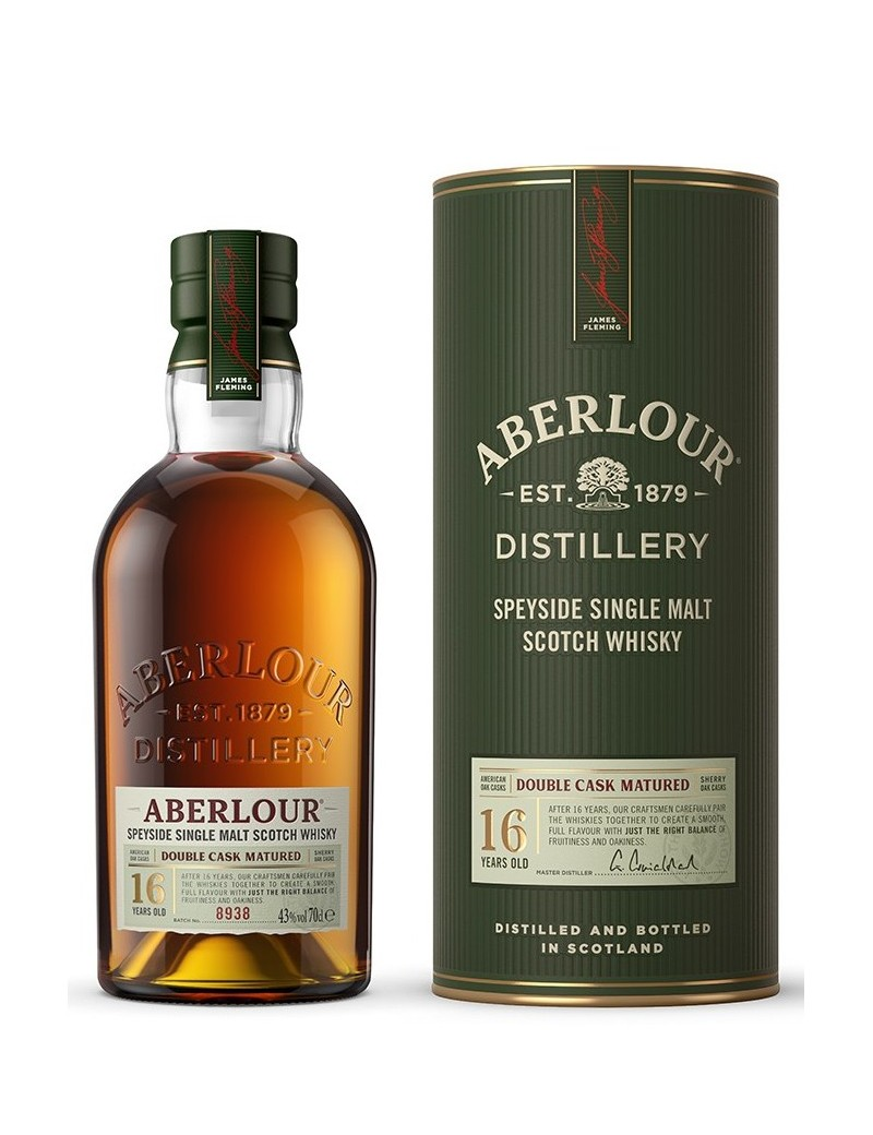 ABERLOUR 16 ans Double Cask Matured 43% 70 cl