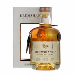 DRUMSHANBO Single Pot Still Irish Whiskey 43% 70 CL et son étui