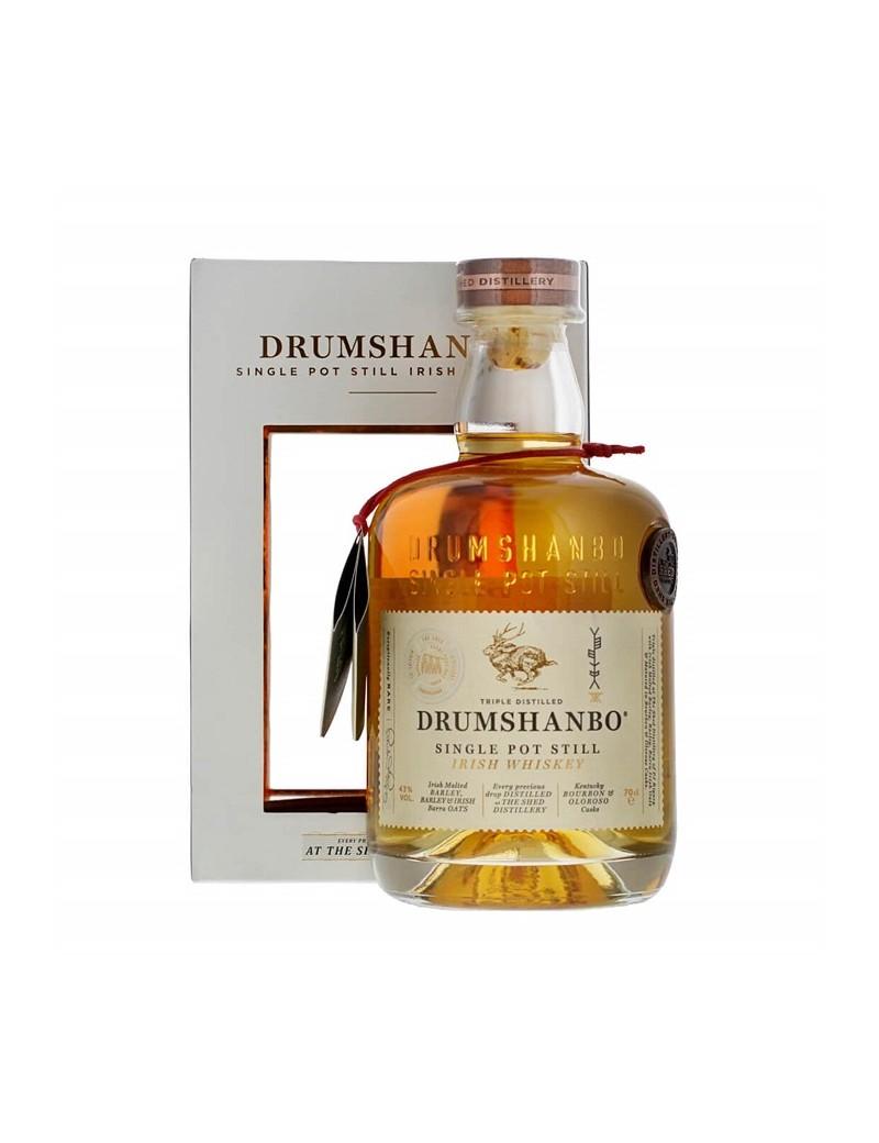 DRUMSHANBO Single Pot Still Irish Whiskey 43% 70 CL et son étui
