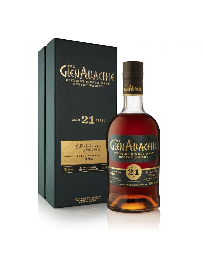 GlenAllachie 21 ans  Cask Strengh Batch 1 51,4%