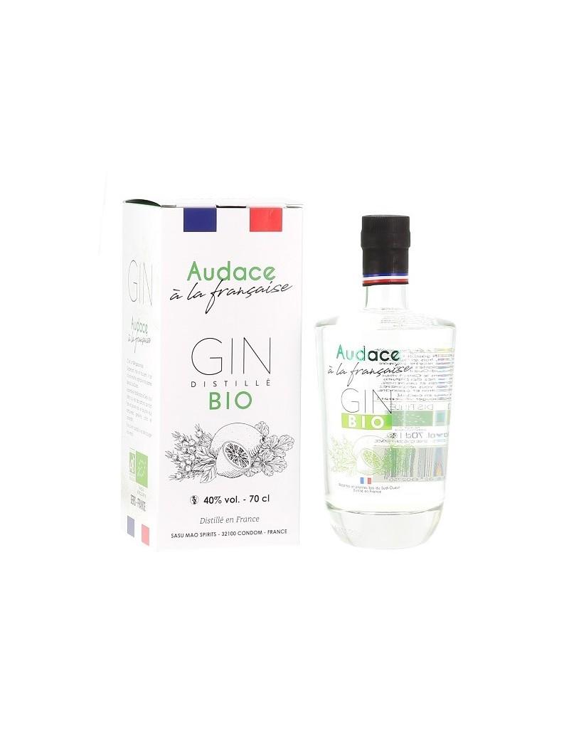 Gin Français Bio AUDACE à la Française 40%