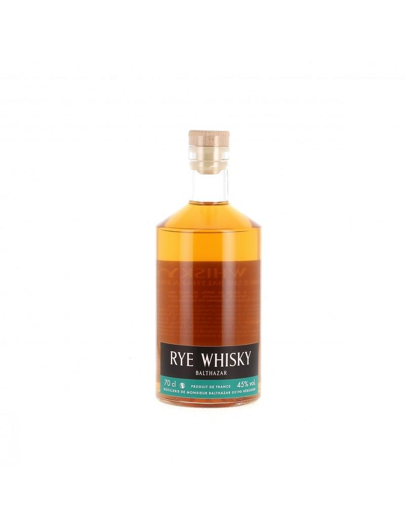 Whisky Rye Single Cask - Distillerie Monsieur Balthazar