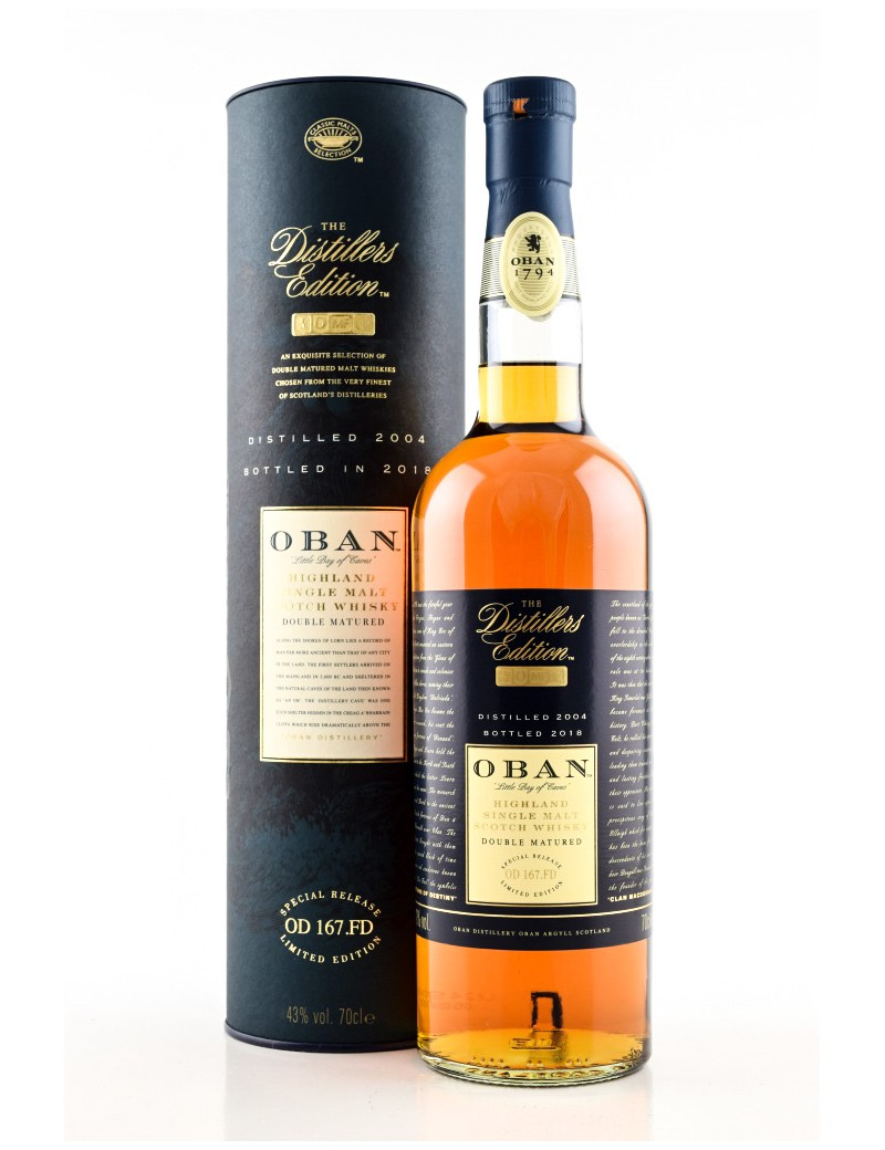 Whisky OBAN The Distillers Edition OD 167.FD