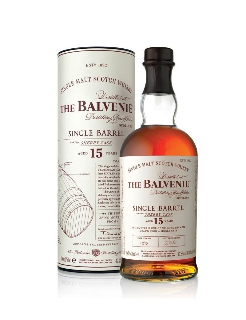 BALVENIE (The) 15 ans Single Barrel