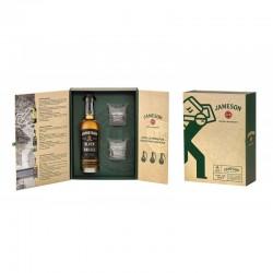 Whisky Irlandais Jameson Black Barrel en coffret et ses 2 verres 40%