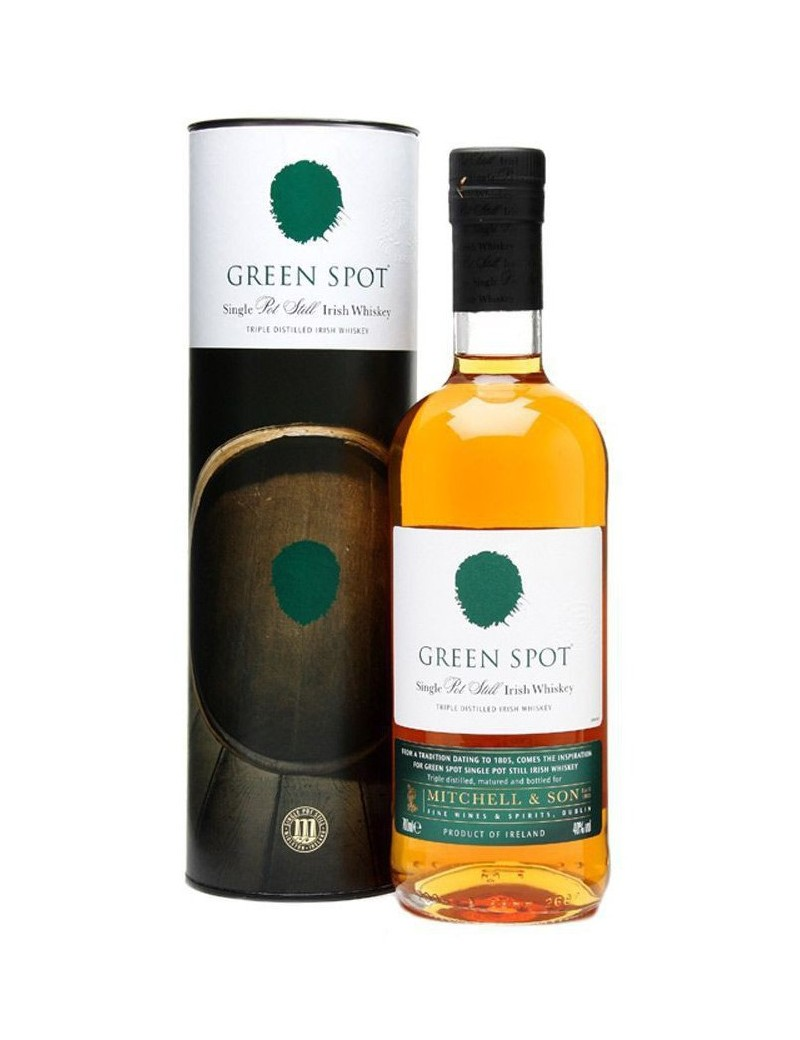 Whisky irlandais single pot still Green Spot Single Pot Still 40%