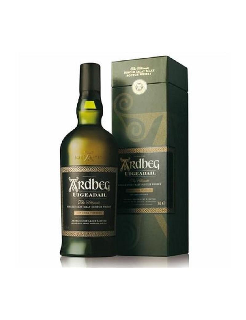 Whisky écossais Ardbeg Uigeadail 54.2% et son étui