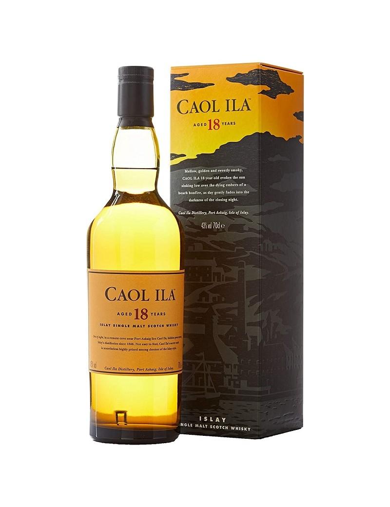whisky single malt écossais Caol Ila et son étui