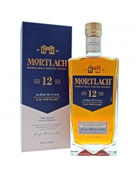 Whisky Mortlach 12 ans The Wee Witchie, single malt écossais, et son étui