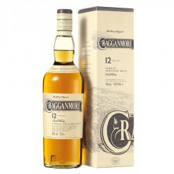 Whisky Cragganmore 12 ans 40% et son étui.
