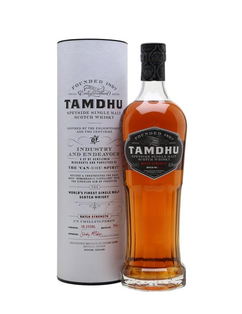 Tamdhu Cask Strength Batch 3  58,3° 70 cl en étui