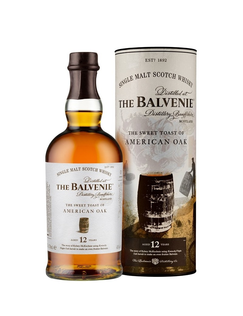 BALVENIE (The) 12 ans The Sweet Toast of American Oak