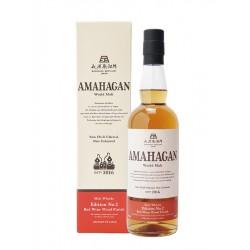 AMAHAGAN Edition No 2 Red Wine Wood Finish