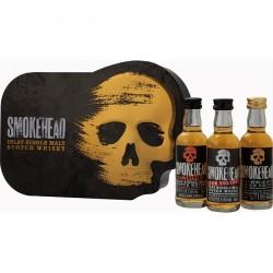 """Smokehead Coffret """"Tête de..."""