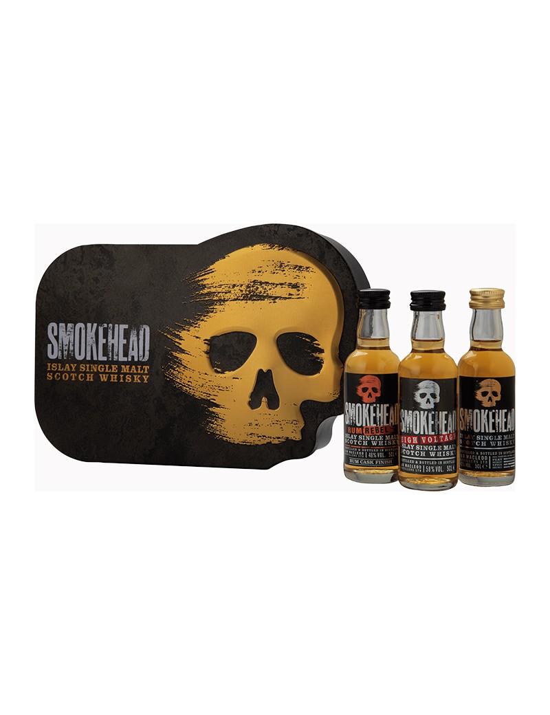 """Smokehead Coffret """"Tête de Mort"""" 49°"""