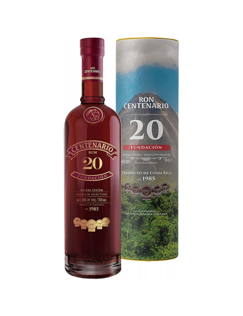CENTENARIO 20 ans Limited Edition Canisters
