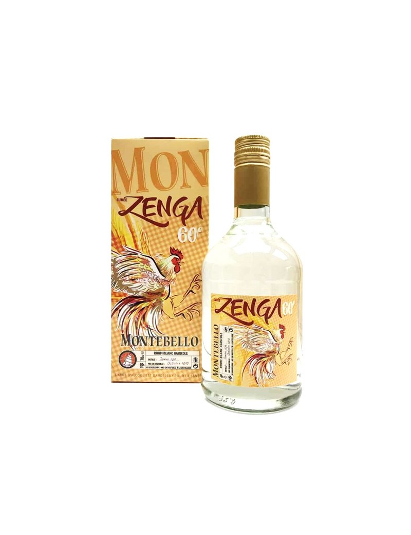 Rhum Montebello Zenga Blanc