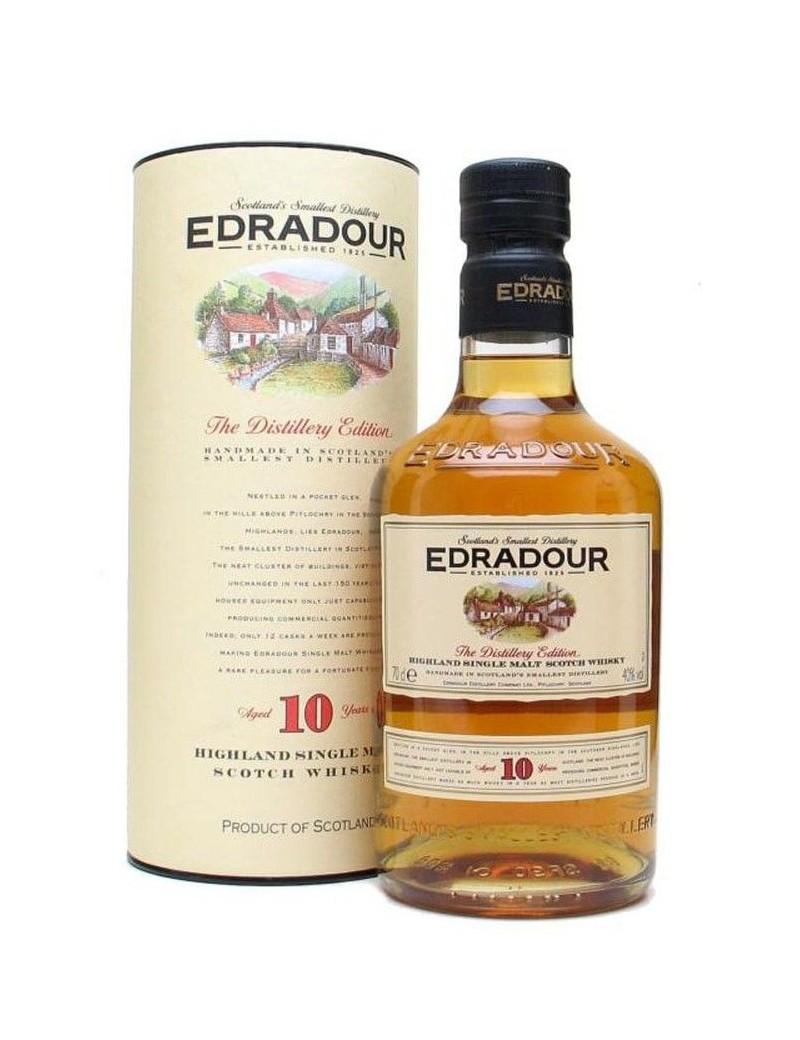 Whisky Ecossais Edradour 10 ans avec étui