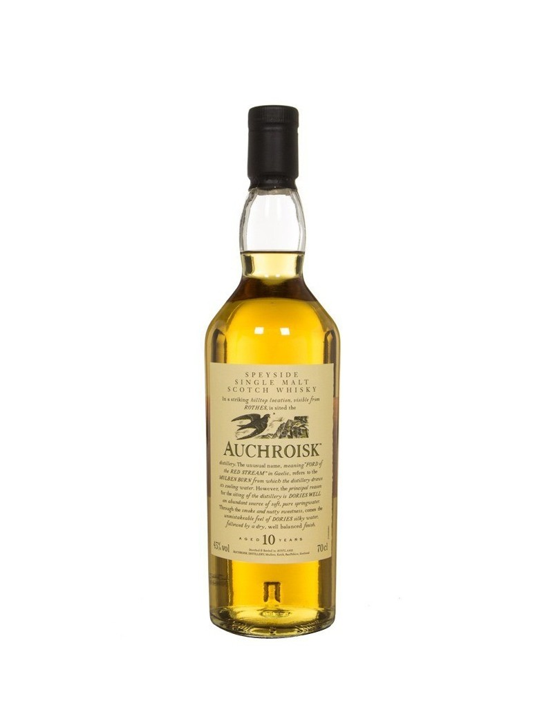Whisky écossais Auchroisk 12 Ans - Collection Flora & Fauna