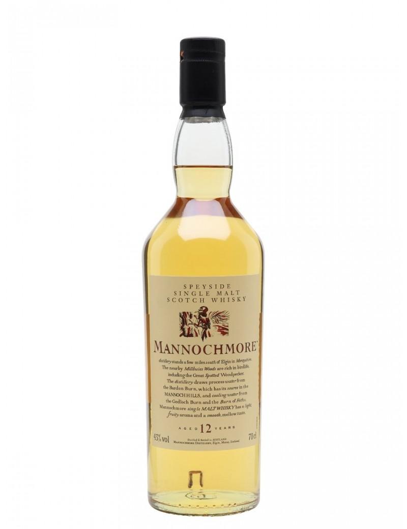 Whisky Mannochmore 12 ans - Flora & Fauna 43%