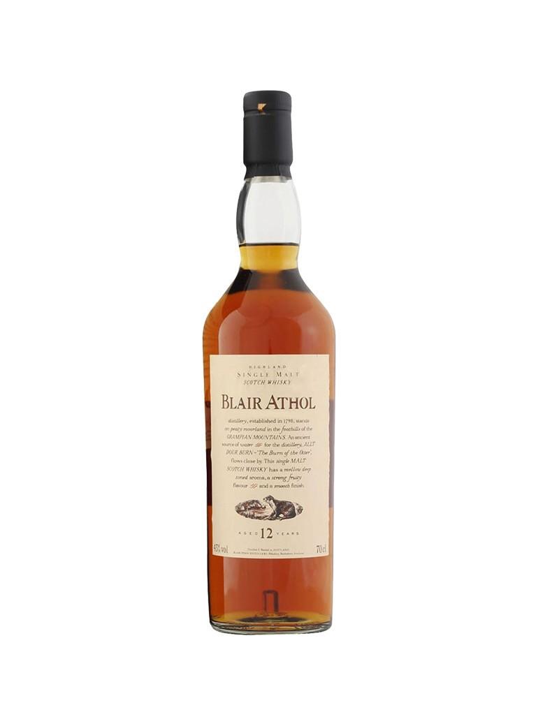Whisky Blair Athol 12 ans - Flora & Fauna 43%