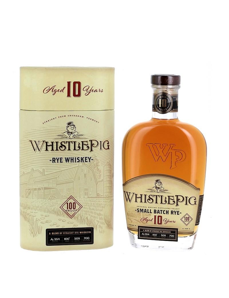 WhistlePig 10 ans - Rye Whiskey