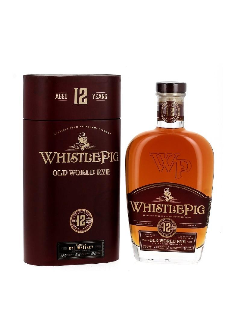 WhistlePig 12 ans - Old World - Rye Whiskey