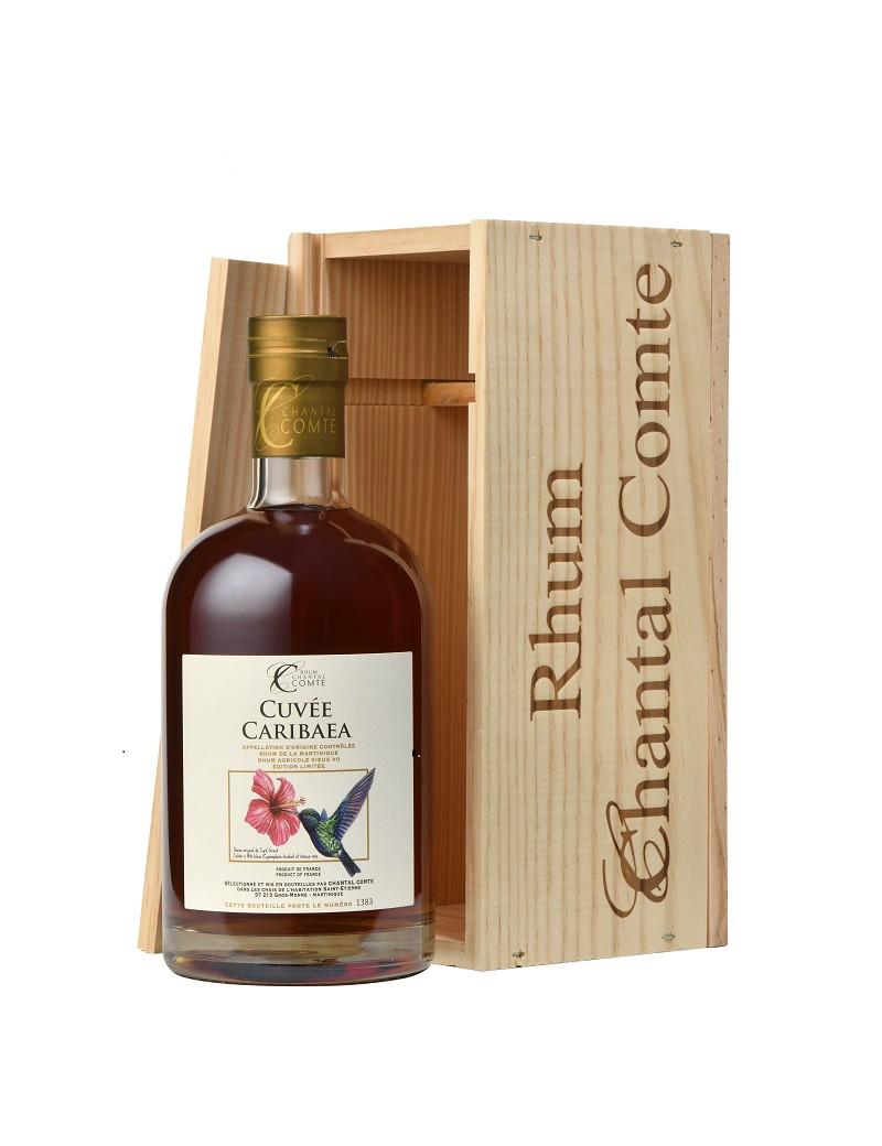 Chantal Comte - Cuvée Caribaea - Rhum Vieux Agricole VO 57%