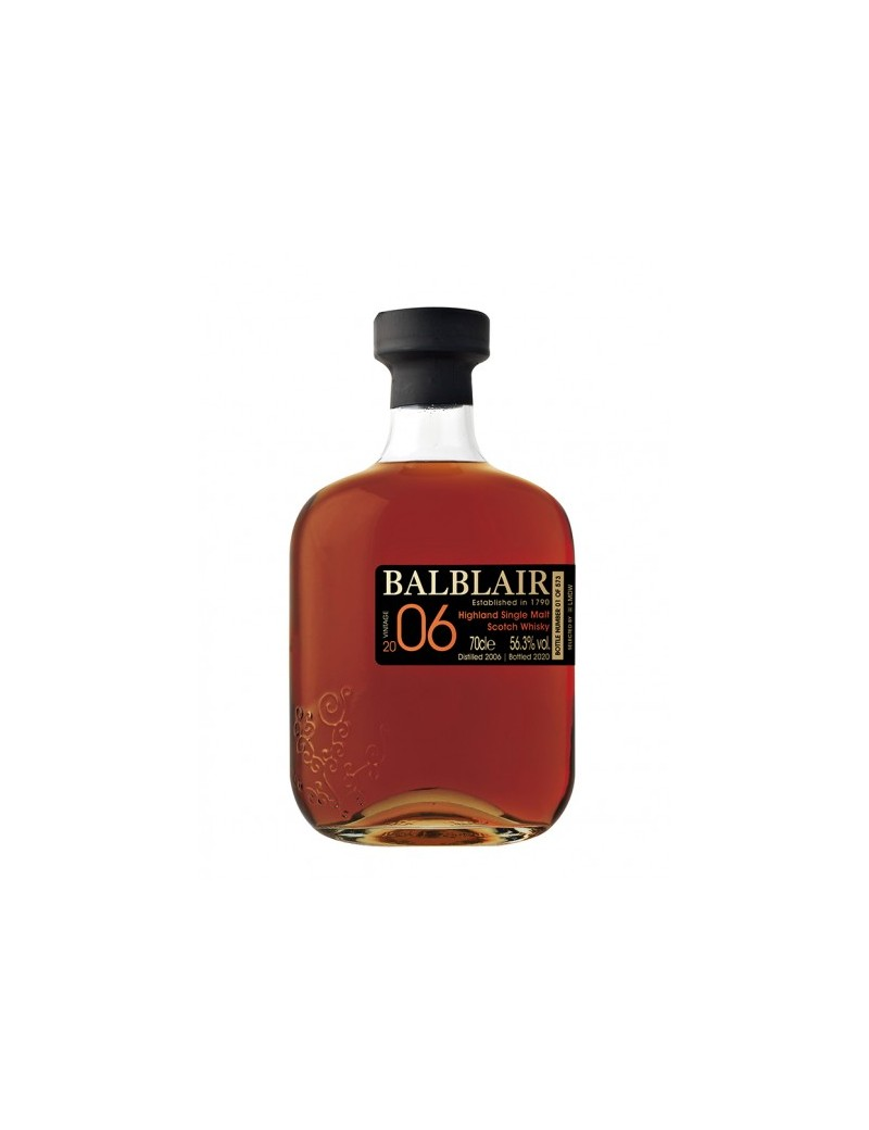 BALBLAIR 14 ans 2006 single cask Sherry LMDW French Connections