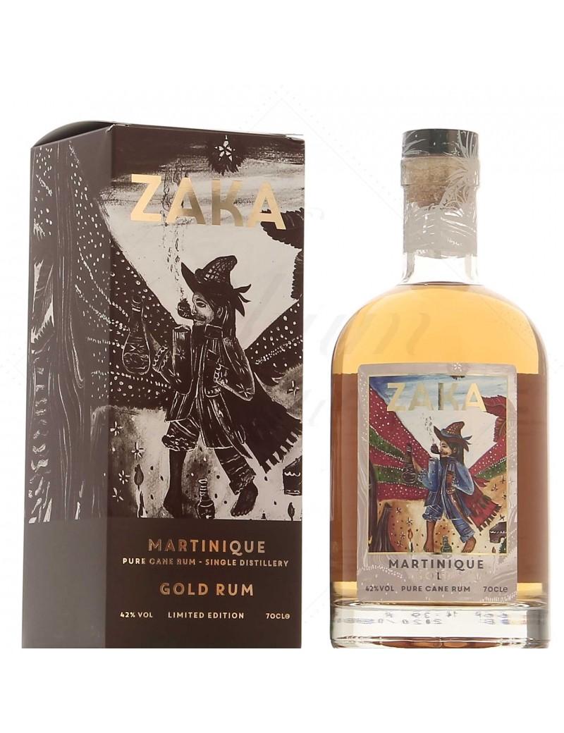 Zaka Rum Martinique Gold La Favorite
