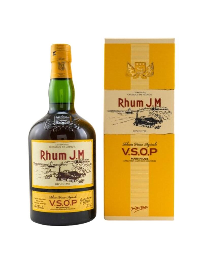 Rhum JM - Rhum Vieux Agricole VSOP 43%