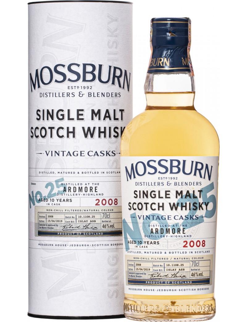 MOSSBURN Ardmore Vintage Casks n°25 -10 ans 46%