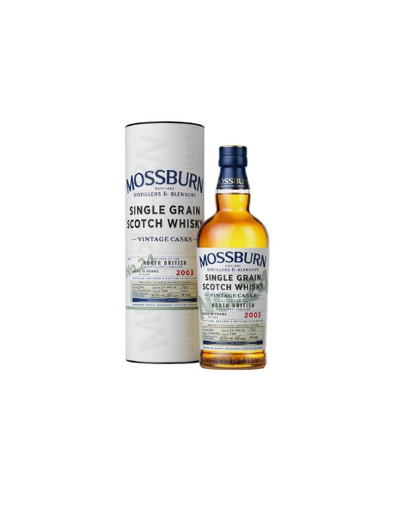Mossburn North British Cask n°24 - 15 ans 46%
